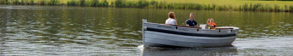 dag varen pettersploep sloep huren boot voor een dag